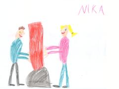 Dostala som krásny obrázok od malej FITBOXERKY Niki – Ďakujem!