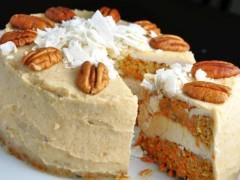 Mrkvová FIT torta
